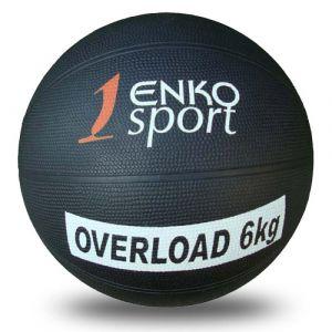 Žoga medicinka Enko 6 kg, guma, premer 22 cm