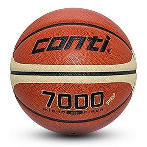 Žoga za košarko PU CONTI 7000 FIBA velikost 7