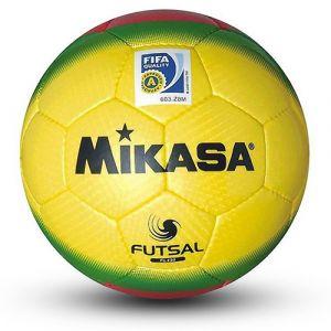 Žoga za mali nogomet Futsal Mikasa FL450 YGR FIFA